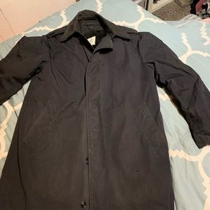 Vintage 80's US Military all weather trench coat